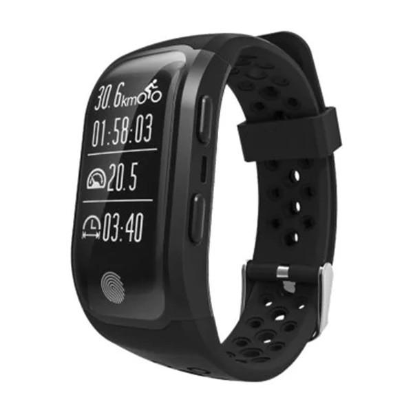 Водоустойчива смарт гривна S908 с крачкомер GPS измерване на сърдечен ритъм SMW18