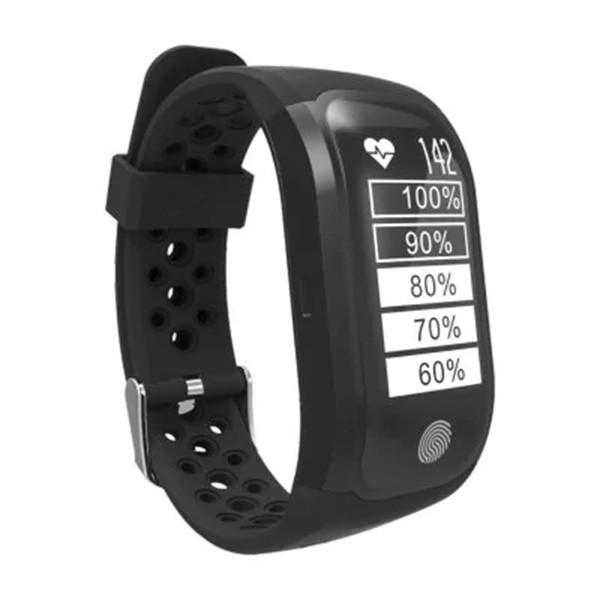 Водоустойчива смарт гривна S908 с крачкомер GPS измерване на сърдечен ритъм SMW18 2