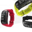 Водоустойчива смарт гривна S908 с крачкомер GPS измерване на сърдечен ритъм SMW18 3