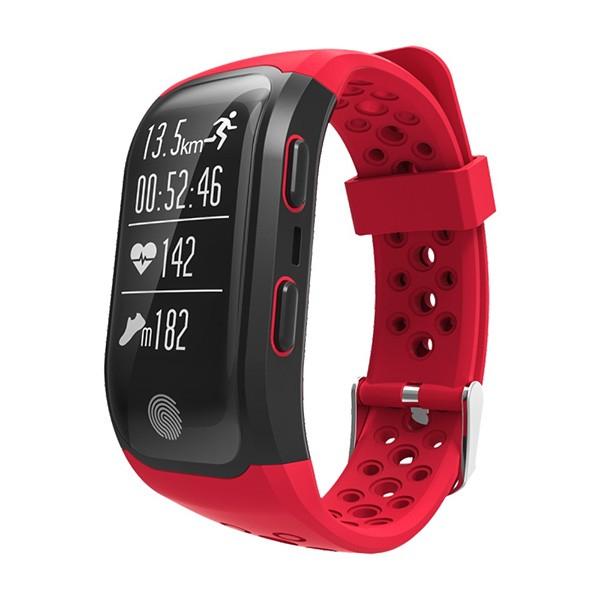 Водоустойчива смарт гривна S908 с крачкомер GPS измерване на сърдечен ритъм SMW18 4