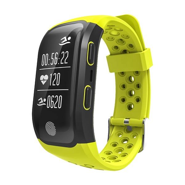 Водоустойчива смарт гривна S908 с крачкомер GPS измерване на сърдечен ритъм SMW18 5