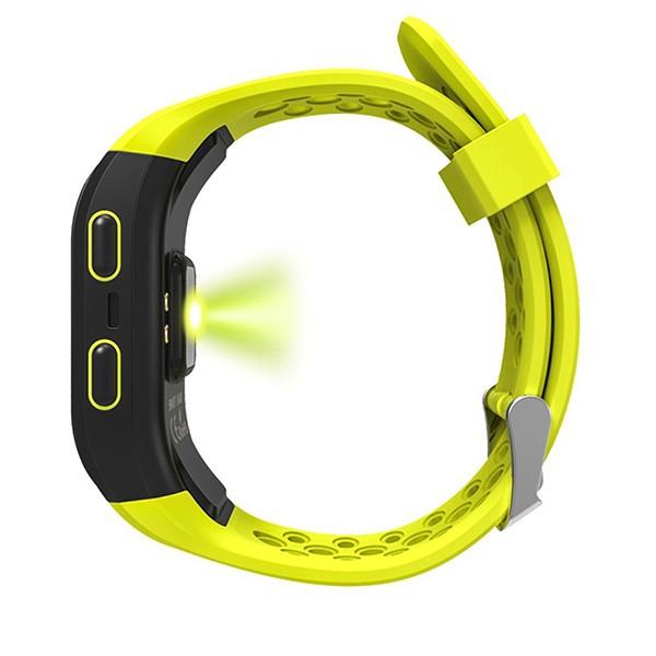 Водоустойчива смарт гривна S908 с крачкомер GPS измерване на сърдечен ритъм SMW18 6