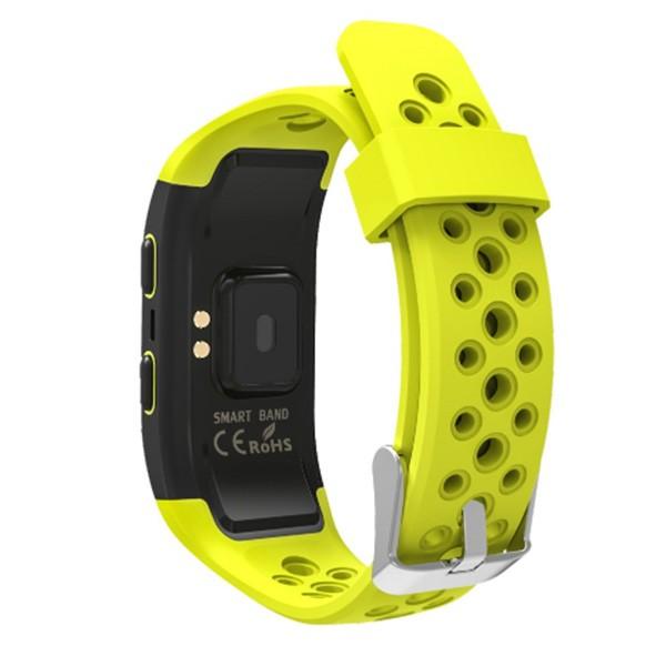 Водоустойчива смарт гривна S908 с крачкомер GPS измерване на сърдечен ритъм SMW18 8