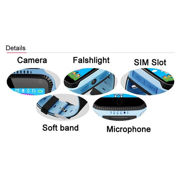 Детски Смарт часовник с GPS- TWOX Q528 6