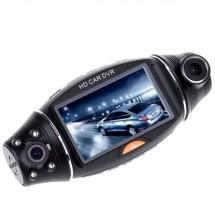 HD DVR рекордер за автомобил R310 TFT с два обектива и GPS-модул