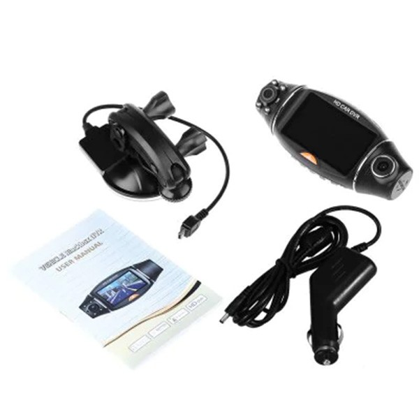 Камера за кола R310 TFT с GPS модул за проследяване и два обектива за HD AC47 8