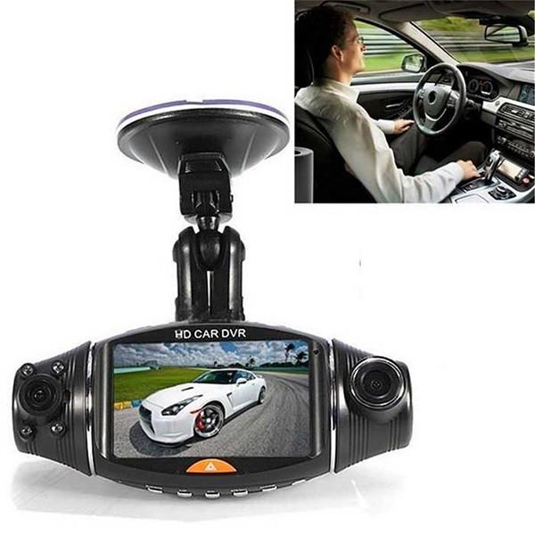 Камера за кола R310 TFT с GPS модул за проследяване и два обектива за HD AC47 9