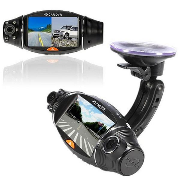 Камера за кола R310 TFT с GPS модул за проследяване и два обектива за HD AC47 10