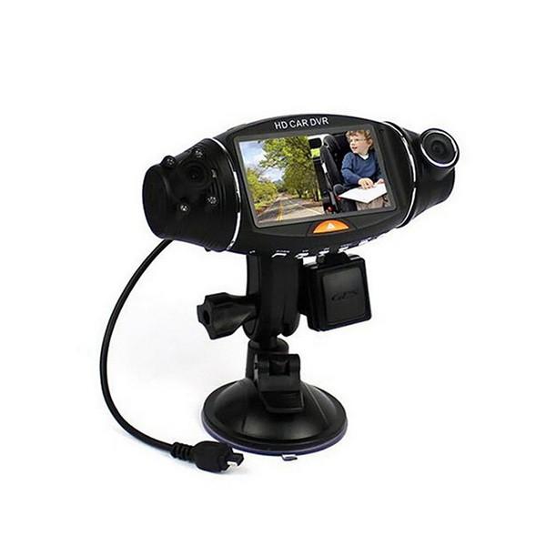 Камера за кола R310 TFT с GPS модул за проследяване и два обектива за HD AC47 11