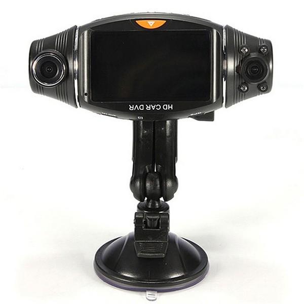 Камера за кола R310 TFT с GPS модул за проследяване и два обектива за HD AC47 12