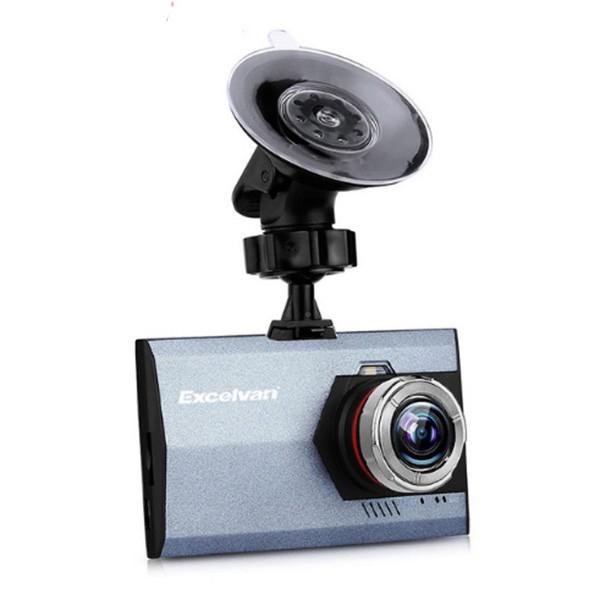 Ултра тънка FHD 1080P камера за кола Excelvan A8 с функция постоянен запис AC46