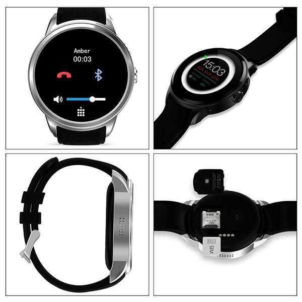 Водоустойчив смарт часовник Lemfo X200 с Bluetooth 3G SIM карта GPS и WiFi SMW22 7