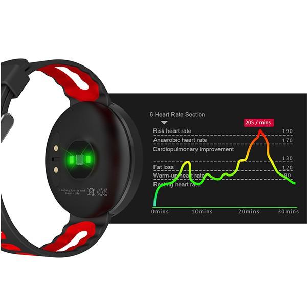 Спортен часовник DM58 с измерване на сърдечния ритъм и кръвното налягане, SMW23 4