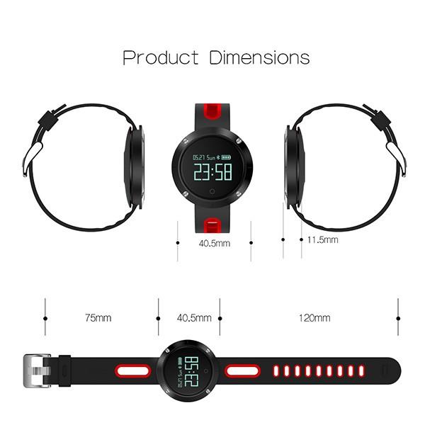 Спортен часовник DM58 с измерване на сърдечния ритъм и кръвното налягане, SMW23 6
