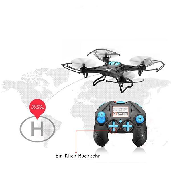 Eachine H8C mini мини-квадрокоптер с макси възможности 4
