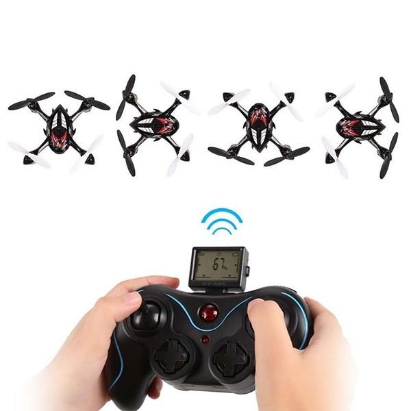 JJRC H6C малък квадрокоптер с камера и повишена стабилност WiFi безжична връзка 11