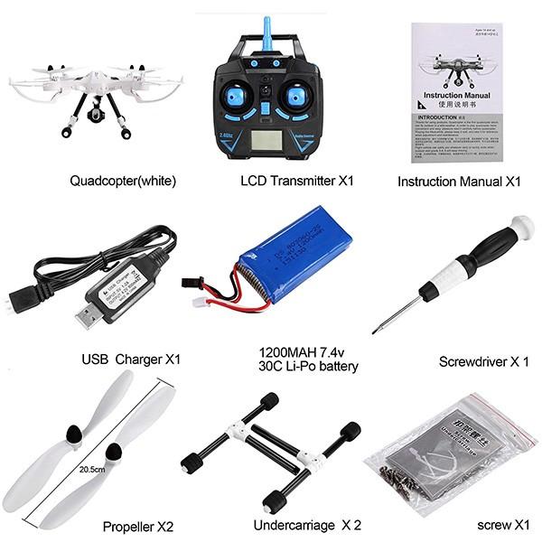 H26W – дрон с камера и безжична връзка към мобилни устройства с Android и iOs 9