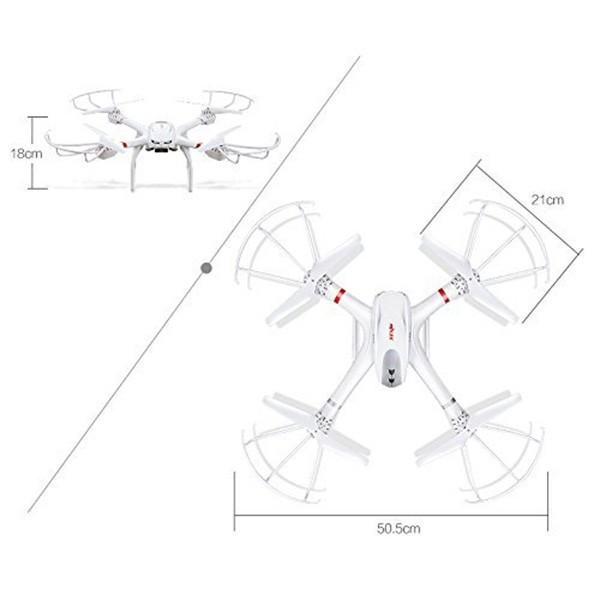 X101 – дрон с безядрени двигатели и опция за закачване на камера 8