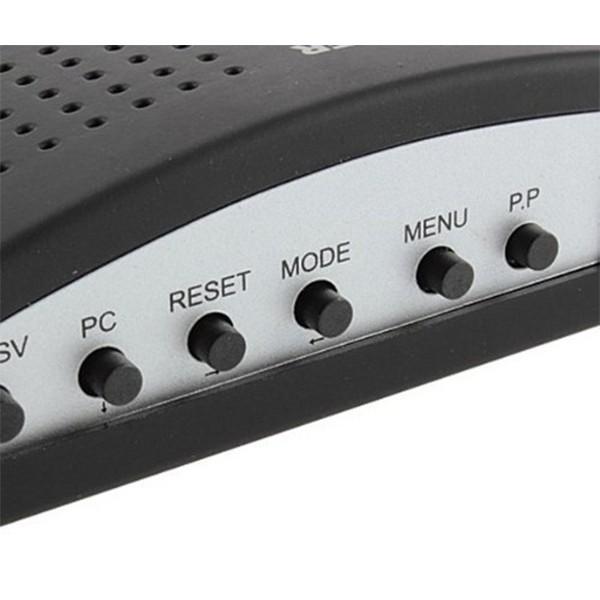 VGA конвертор поддържа трансфер между DVD или PS2 към телевизор или монитор CA89 9