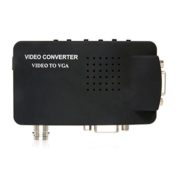 VGA конвертор поддържа трансфер между DVD или PS2 към телевизор или монитор CA89 12
