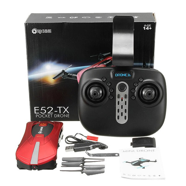 Квадракоптер Eachine E52 с видеопредаване в реално време и WiFi 16