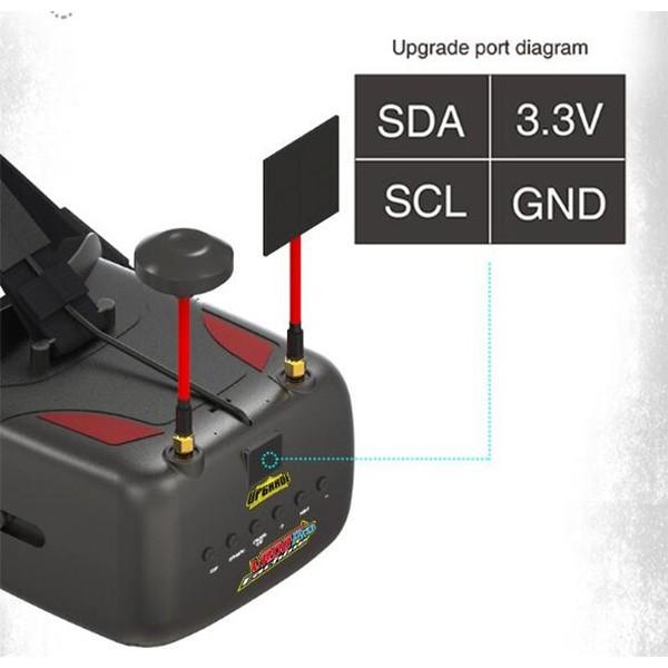 Многофункционални FPV очила с регулируем DVR обектив Eachine VR D2 Pro 9