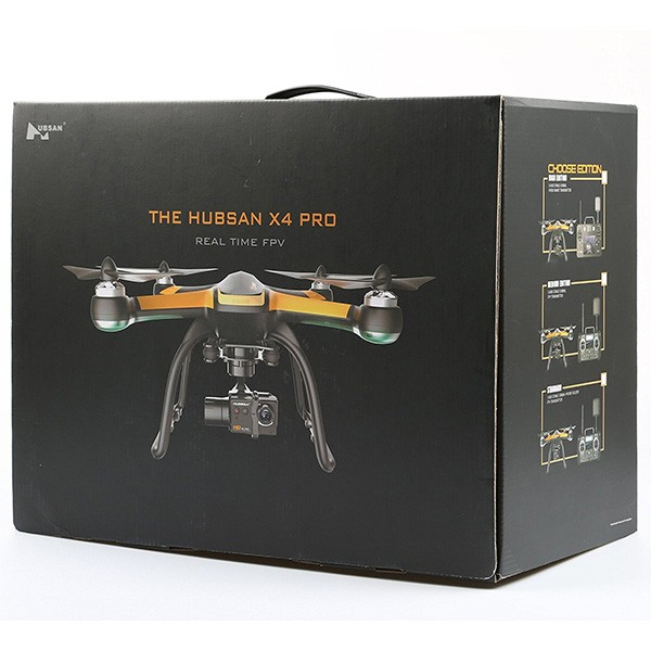 Дрон Hubsan H109S X4 PRO с обхват до 1500 метра и 1080P HD камера 12