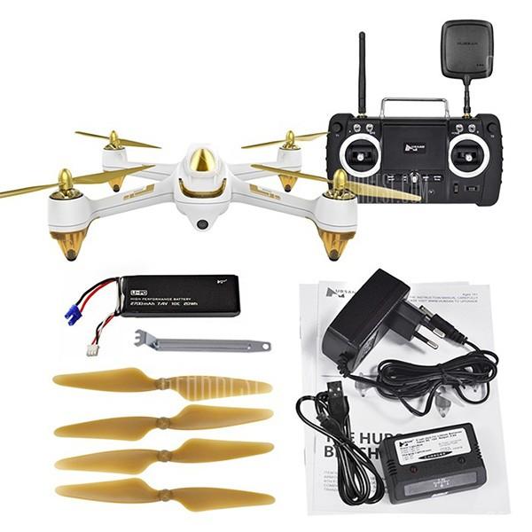Квадракоптер Hubsan H501S X4 с HD камера FPV GPS и безчетков мотор 10