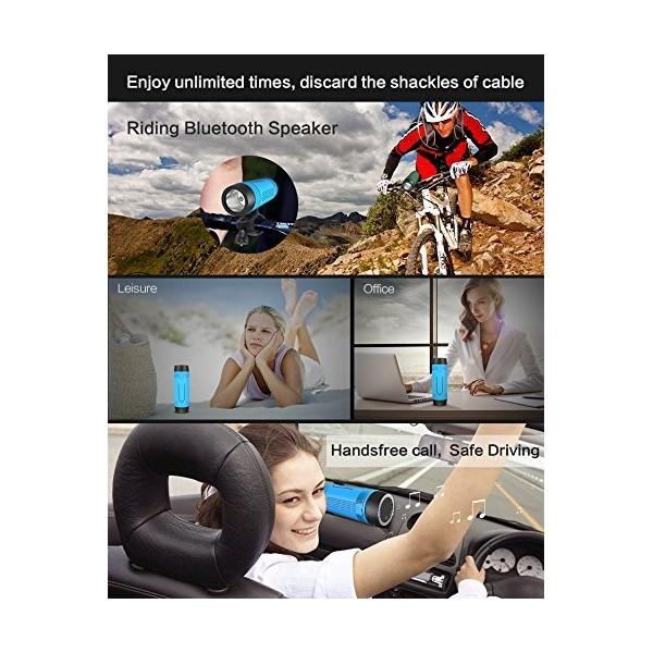 ZEALOT S1 Преносим водоустойчив Bluetooth високоговорител, фенер, Music Player 9