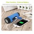 ZEALOT S1 Преносим водоустойчив Bluetooth високоговорител, фенер, Music Player 12