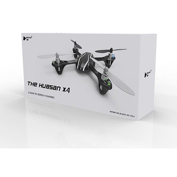Квадракоптер Hubsan X4 H107L с 3D летене 6-осов жироскоп 12
