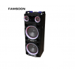 "Колона с двоен бас Avcrowns CH6210 2 x 10"" PA Speaker +Bluetooth +USB/SD/FM +LED 8"
