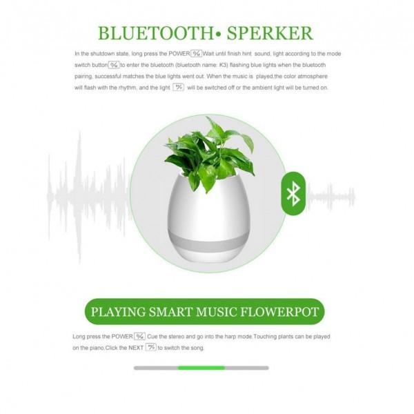 Музикална Bluetooth саксия 7