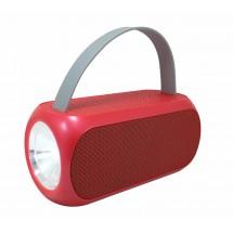 T2329A преносима Bluetooth колонка с FM радио и фенер