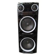 "Колона с двоен бас Avcrowns CH6210 2 x 10"" PA Speaker +Bluetooth +USB/SD/FM +LED"