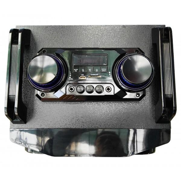 "Колона с двоен бас Avcrowns CH6210 2 x 10"" PA Speaker +Bluetooth +USB/SD/FM +LED 2"