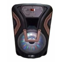 Озвучителна система 12 инча с акомулаторна батерия дистанционно управление 2 бр микрофони К8-12