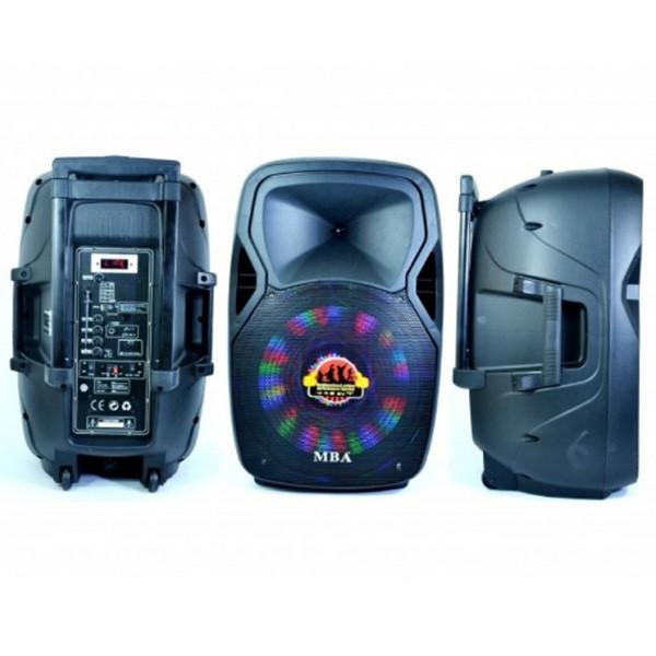 Аудио система за караоке MBA Q15 с акумулатор 2