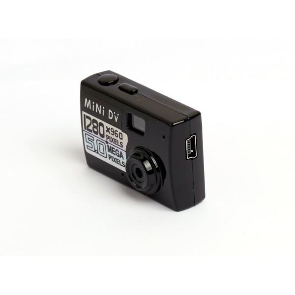 Мини камера 5MP KebiduHD Най-малък Mini DV цифров фотоапарат видео рекордер SC7 1