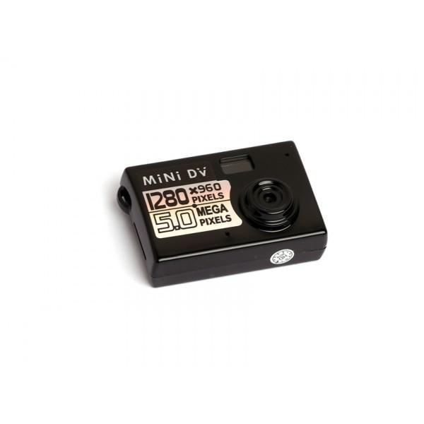 Мини камера 5MP KebiduHD Най-малък Mini DV цифров фотоапарат видео рекордер SC7 3