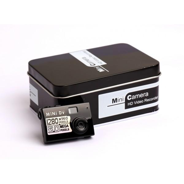 Мини камера 5MP KebiduHD Най-малък Mini DV цифров фотоапарат видео рекордер SC7 4