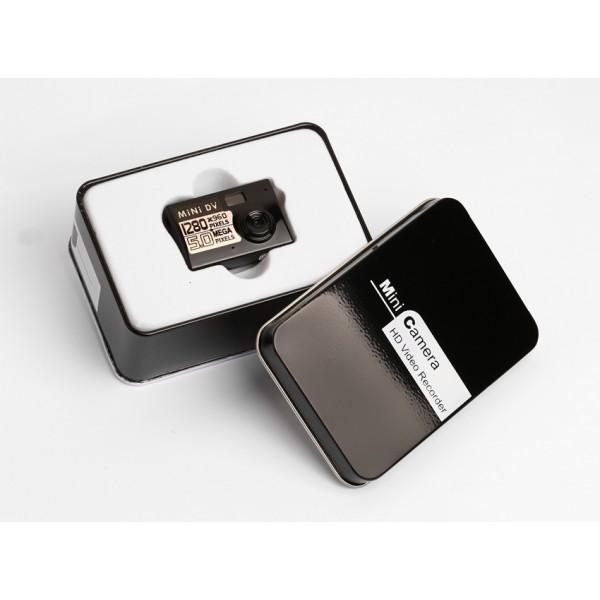 Мини камера 5MP KebiduHD Най-малък Mini DV цифров фотоапарат видео рекордер SC7 5
