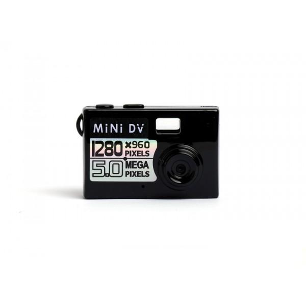 Мини камера 5MP KebiduHD Най-малък Mini DV цифров фотоапарат видео рекордер SC7 6