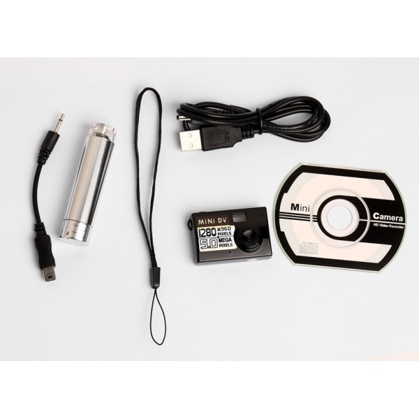 Мини камера 5MP KebiduHD Най-малък Mini DV цифров фотоапарат видео рекордер SC7 7