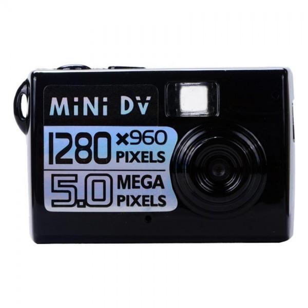 Мини камера 5MP KebiduHD Най-малък Mini DV цифров фотоапарат видео рекордер SC7