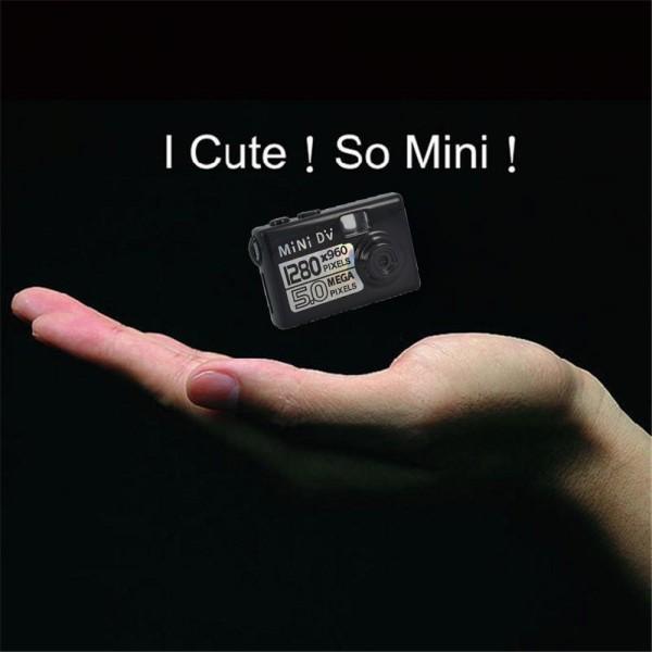 Мини камера 5MP KebiduHD Най-малък Mini DV цифров фотоапарат видео рекордер SC7 10