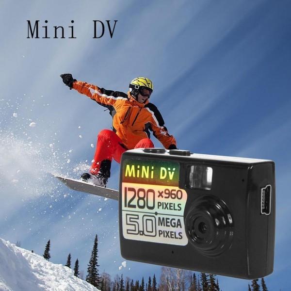 Мини камера 5MP KebiduHD Най-малък Mini DV цифров фотоапарат видео рекордер SC7 13