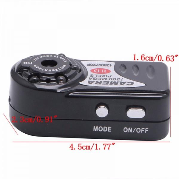 Q5 Mini DV–мини видео и аудио рекордер с нощно виждане и детектор за движение SC6 5