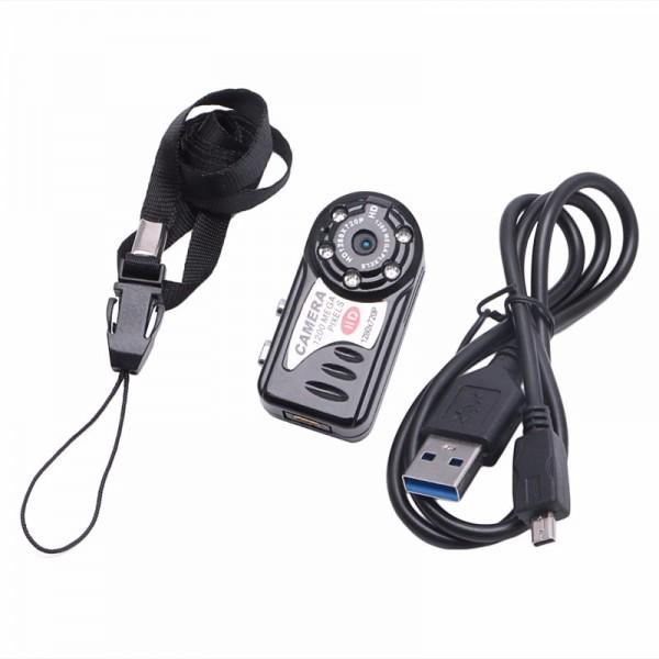 Q5 Mini DV–мини видео и аудио рекордер с нощно виждане и детектор за движение SC6 7