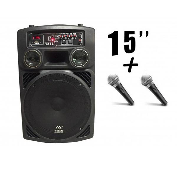 Мощна автономна аудиосистема WG15L с включени микрофони